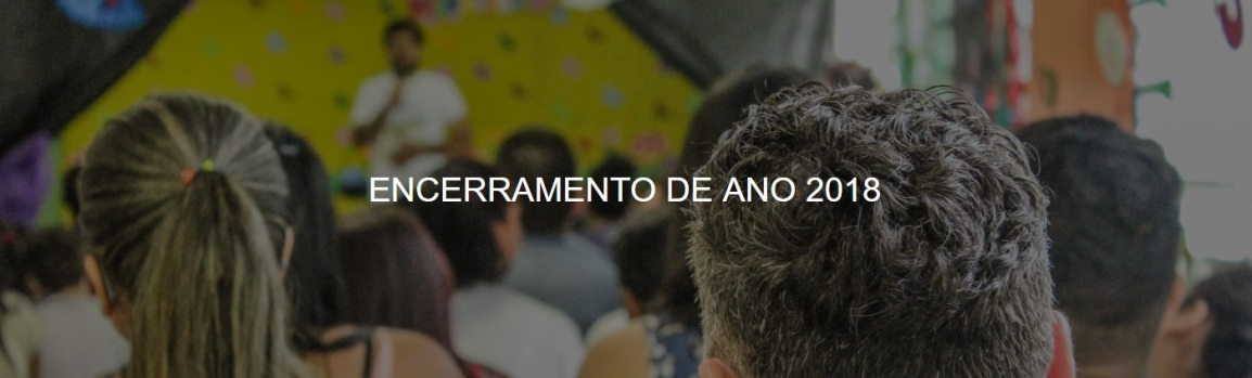 ENCERRAMENTO DE ANO2018